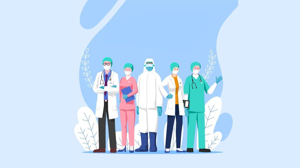 Mais de 307 mil profissionais da saúde já foram contaminados pelo coronavírus no Brasil