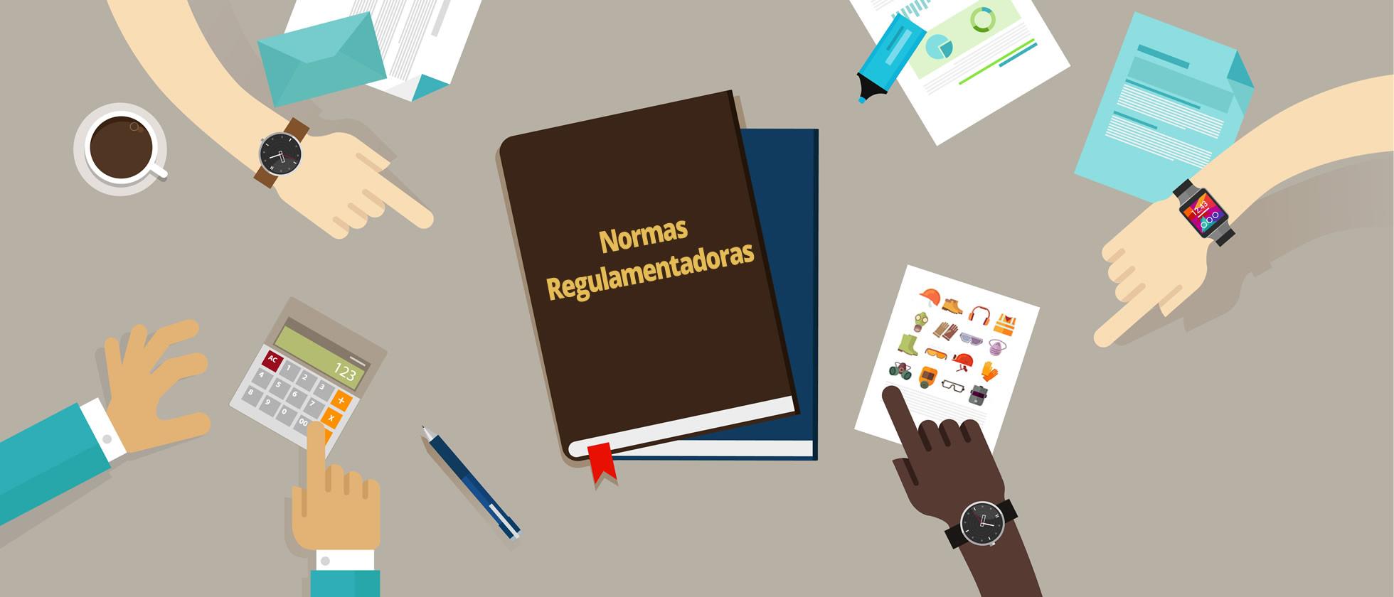 Resultado de imagem para Normas Regulamentadoras