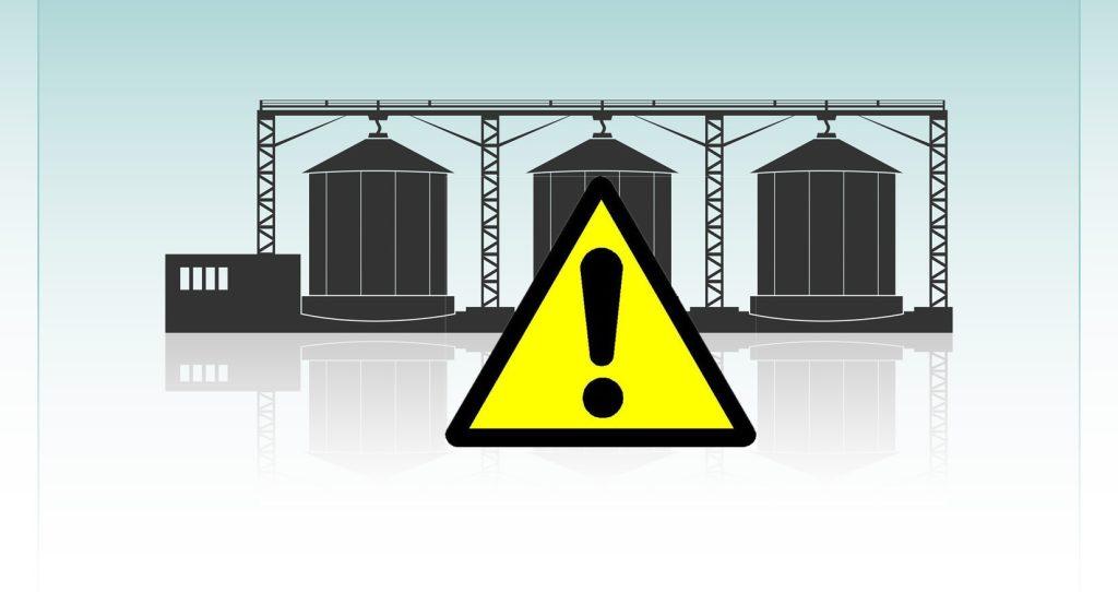 Acidentes de trabalho em silos: recorde de safra acende alerta